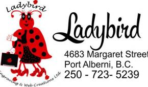 ladybird engraving and web creations port alberni